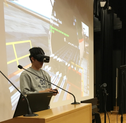 Photo of use of VR