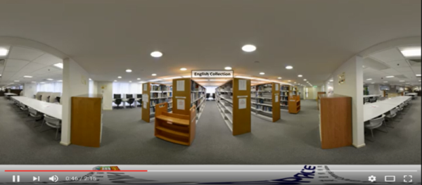 360 VR library tour