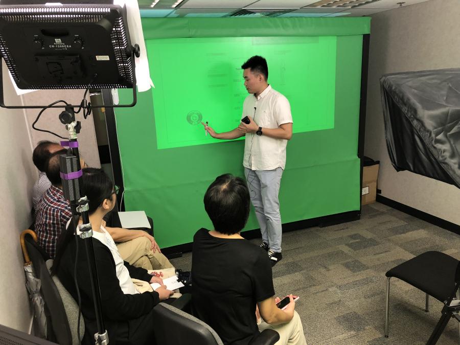 DIY E-learning Room familiarisation session