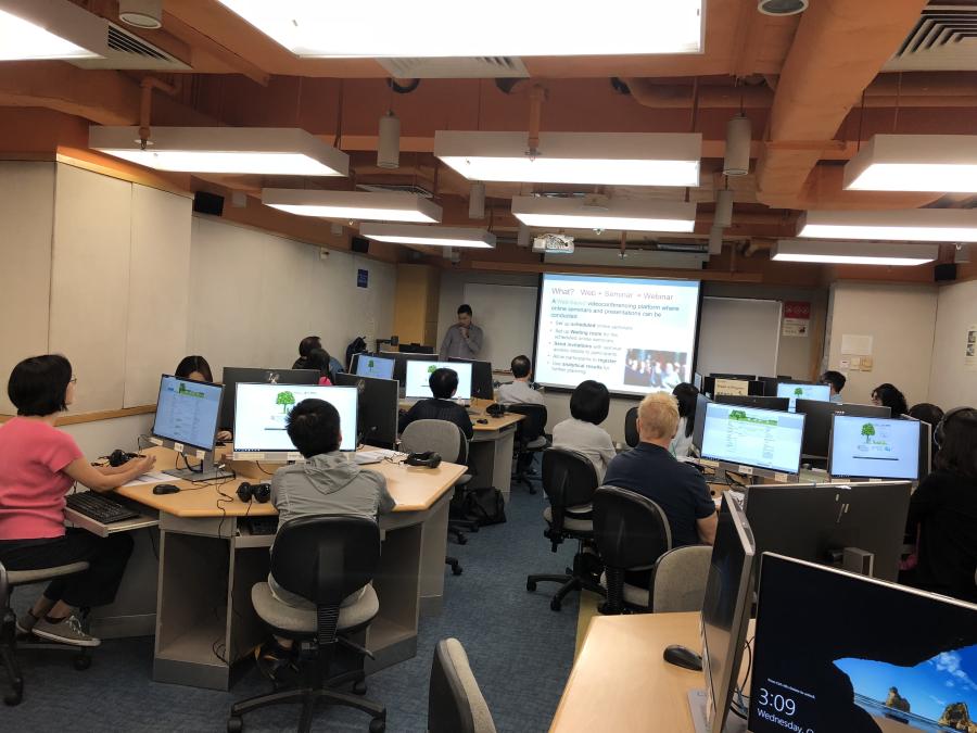 Hands-on training workshop