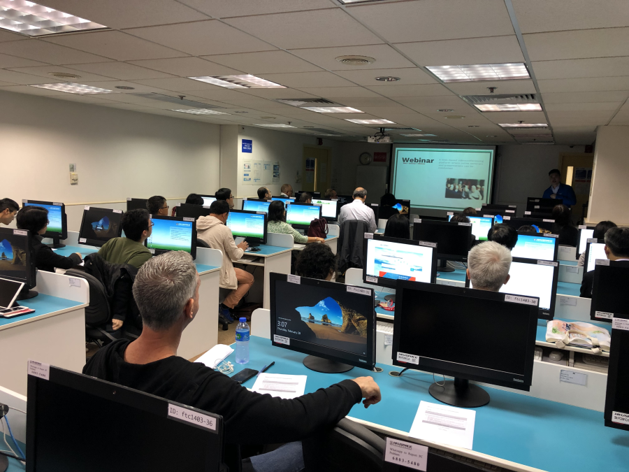 Webinar Training Session (28 February 2019)