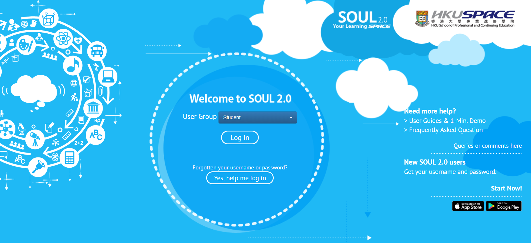 SOUL 2.0 new homepage